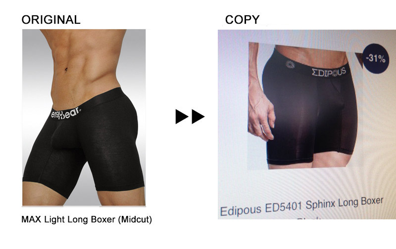 Edipous underwear by Skikiez/Mensuas copycat of Ergowear MAX Light